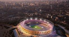 Olympic stadium artist impression