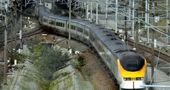 eurostar train in france