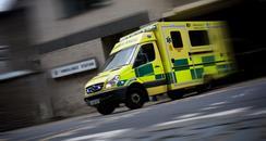 Ambulance on a call