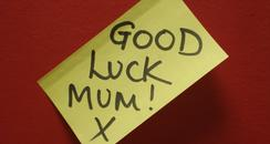 Good luck Mum!