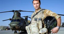 Flight Lieutenant Chris Hasler