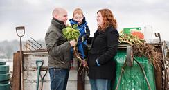 Gardening Family from Kent