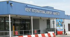 Passenger terminal at Kent International Airport