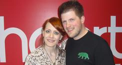 Ana Matronic from Scissor Sisters with Heart's Dan