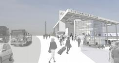Artist's impression of the planned new Northampton