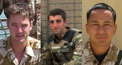 Three Kent-based soldiers killed in Afghanistan