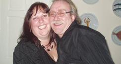 Michael Baker with partner