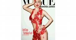 Lady Gaga Vogue Hommes Japan cover