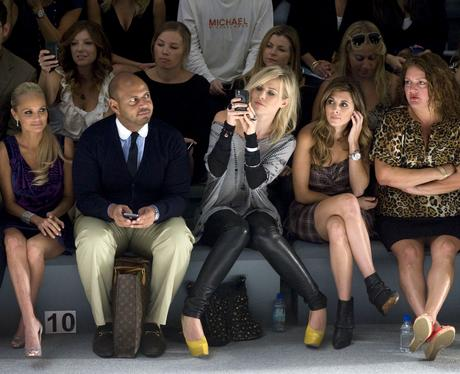 Celebrities At New York Fashion Week Celebrities On The