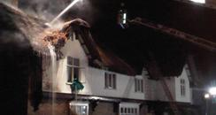 Peterborough Thatch Fire