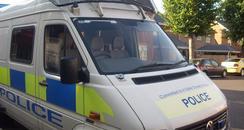 Dorset Police Van