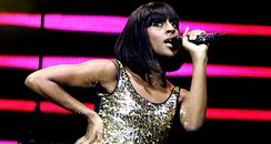 Alexandra Burke peforming at  Capitals Jingle Ball