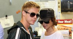 Cheryl Cole and Derek Hough