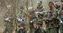 Students take part in Army exercise