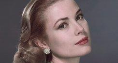 Grace Kelly posing side on