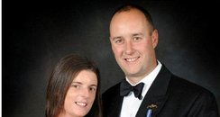 Lieutenant Commander Ian Molyneux and wife Gillian