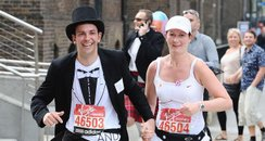 brighton Couple Marry During London Marathon