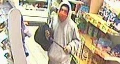 CCTV picture of robber