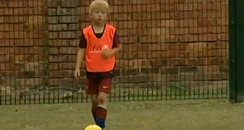 Kai Fifield playing football