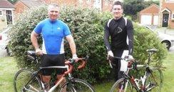 PC Dave Cooper and Sergeant Simon Morgan