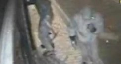 CCTV picture still of raid