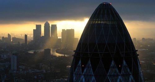 London's Gherkin In A Pickle