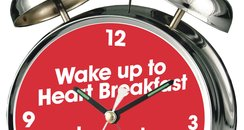 Heart Breakfast Alarm Clock