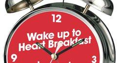Heart Breakfast Alarm Clock