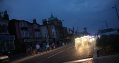 Power cut on the Golden Mile in Great Yarmouth