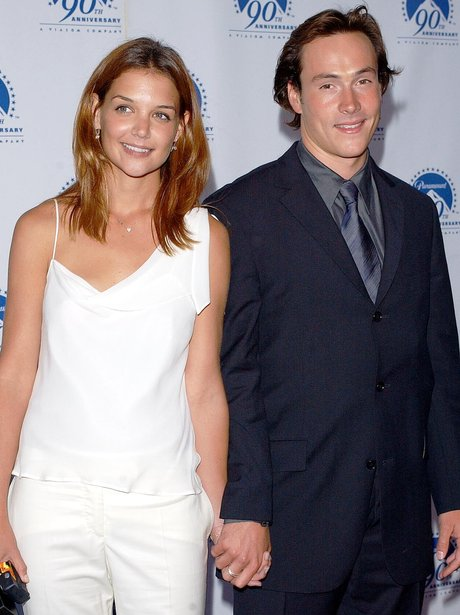 chris klein and katie holmes relationship