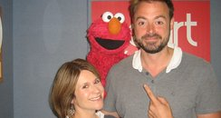 Elmo with Jamie and Harriet