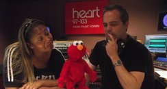 Elmo with Matt and Michelle