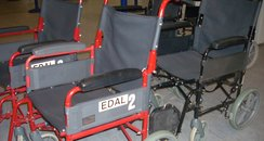 Red Wheelchairs