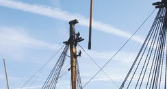 HMS Victory Renovation Continues
