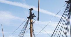 HMS Victory Renovation Continues