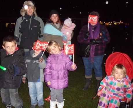 Leeds Castle Fireworks 6/11/11