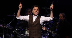 Olly Murs live on stage
