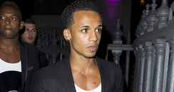 Aston Merrygold at Pixie Lotts 21st birthday