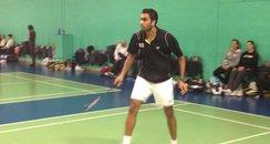 Rajiv Ouseph In Training