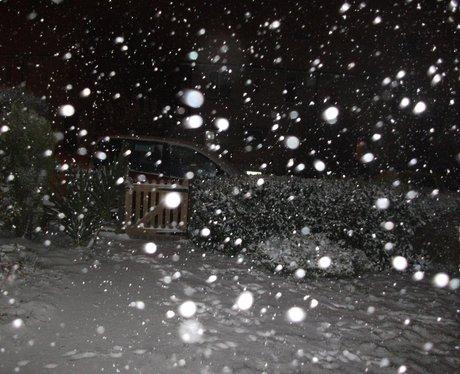 Hertfordshire snow