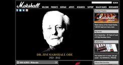 Jim Marshall OBE - Marshall Website