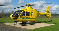 Dorset's Air Ambulance Helicopter