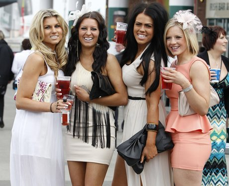 Grand National in Liverpool Day