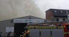 Portswood fire