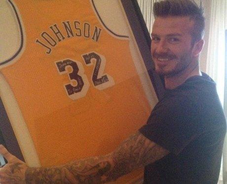 David Beckham's Birhtday