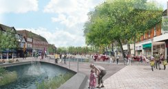watford new design town centre