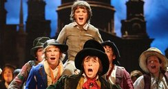 The cast of Oliver! The Musical