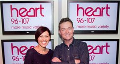 Emma Willis and Stephen Mulhern Heart Presenters