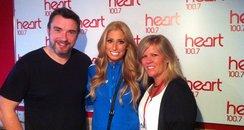 Stacey Soloman with Ed & Rachel