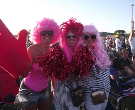 The Ravers at Rewind Festival 2012